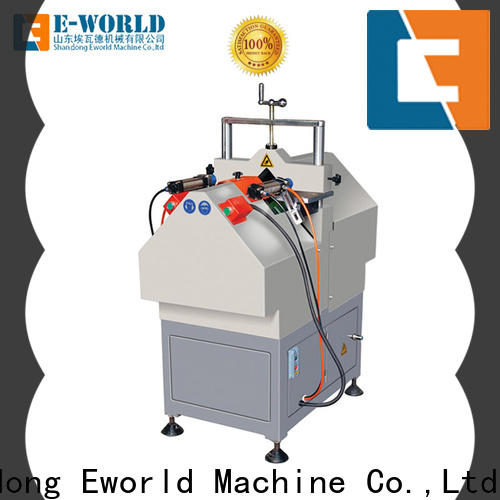 Eworld Machine profile upvc window fabrication machinery supplier for industrial production