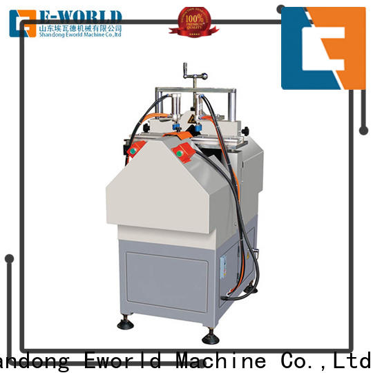 Eworld Machine latest pvc window corner clean machine supplier for industrial production