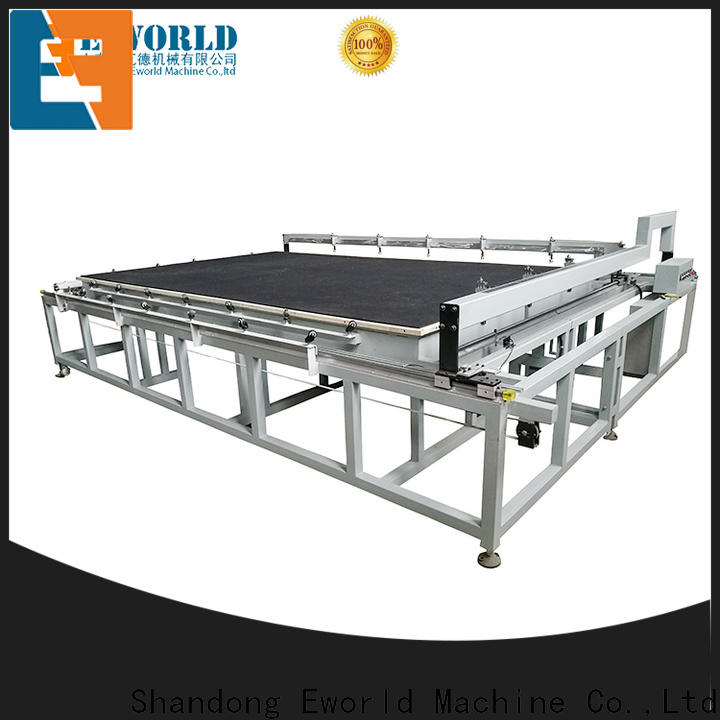 Eworld Machine reasonable structure mirror glass cutting machine foreign trader for industry