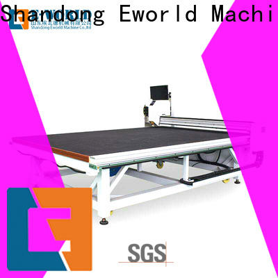 Eworld Machine good safety automatic glass cutting production line dedicated service for sale