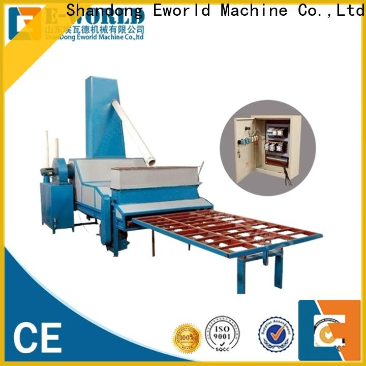 Eworld Machine competitive price automatic sandblasting machine manufacturers from China for manufacturing