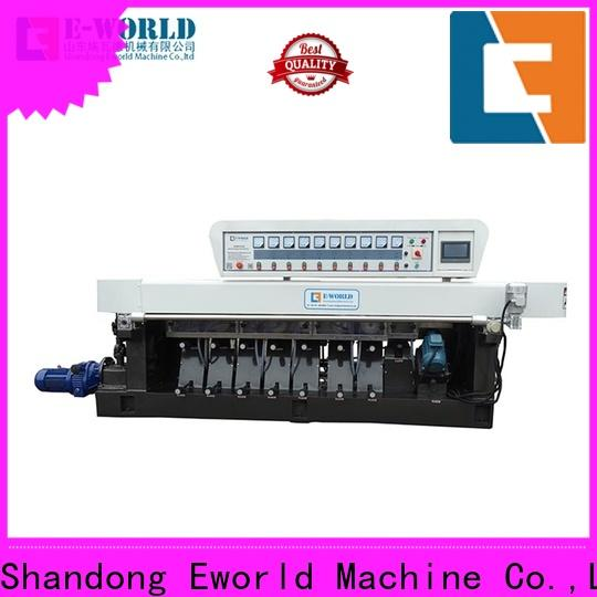 Eworld Machine glass straight line edging machine OEM/ODM services for manufacturing