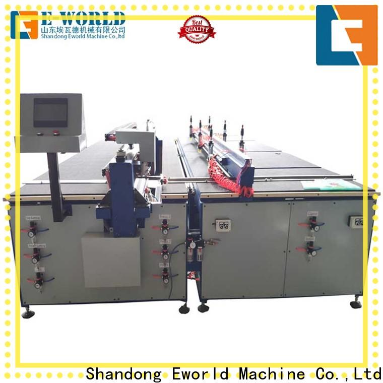 Eworld Machine semiautomatic laminated glass cutting machine exquisite craftsmanship for sale