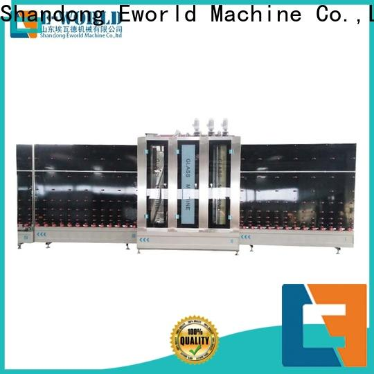 Eworld Machine standardized vertical insulating glass machinery factory for manufacturing