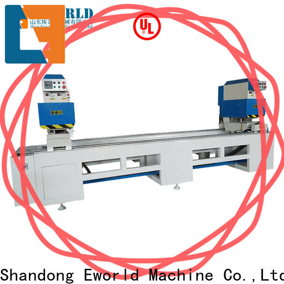 Eworld Machine new upvc doors and windows manufacturing machines factory for manufacturing