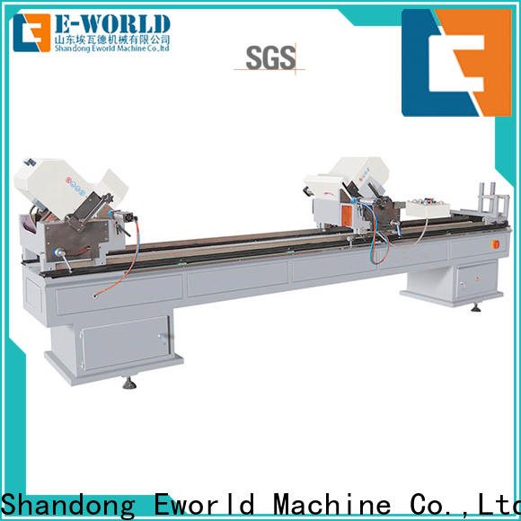 Eworld Machine double upvc machine order now for industrial production