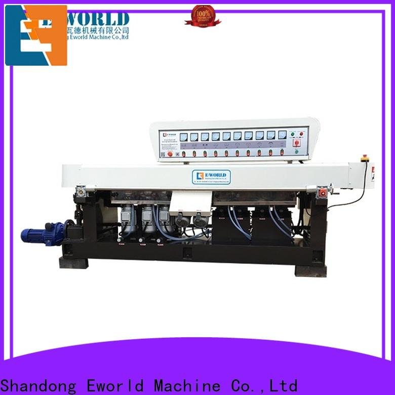 Eworld Machine automatic glass polishing equipment supplier for industrial production
