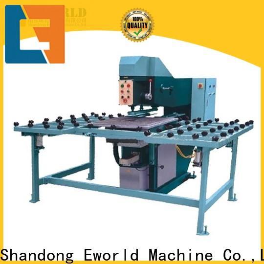 Eworld Machine customized automatic glass drilling machine international trader for manufacturing