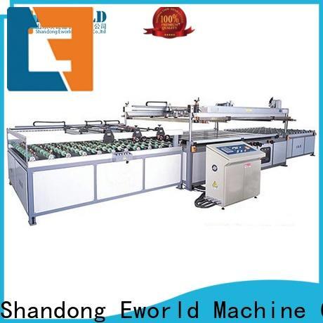 Eworld Machine original panel glass screen printing machine exporter for industry