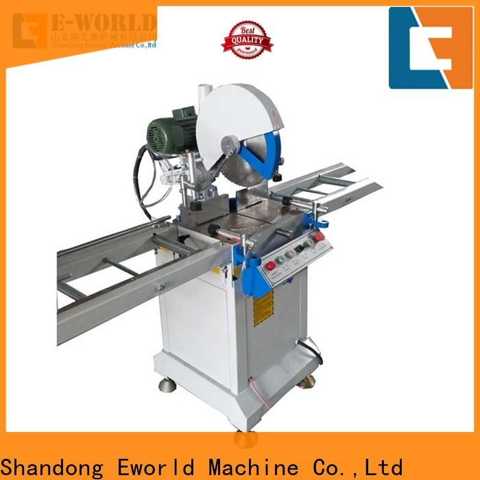 Eworld Machine new double head cutting saw order now for industrial production