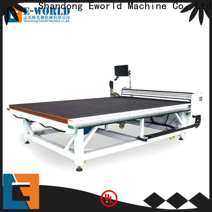 stable performance cnc glass cutting table shaped dedicated service for sale