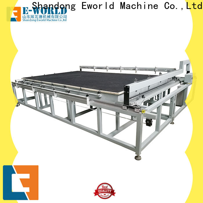 high reliability glass cutting table laminated dedicated service for machine