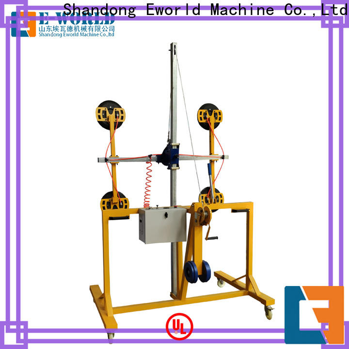 Eworld Machine electric vacuum glass lifting factory for sale