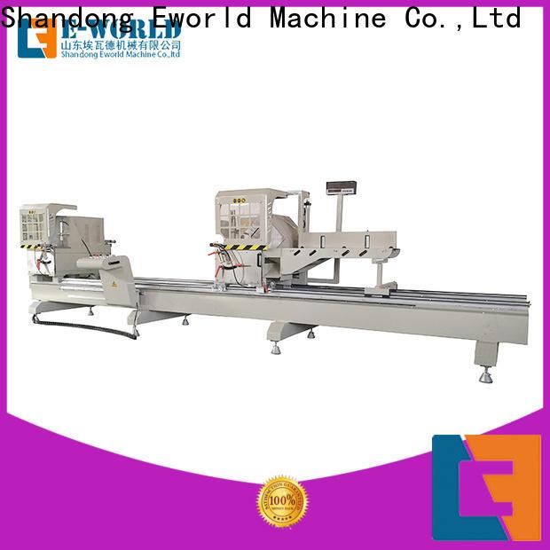 Eworld Machine windows corner crimping machine for aluminium profiles manufacturer for manufacturing