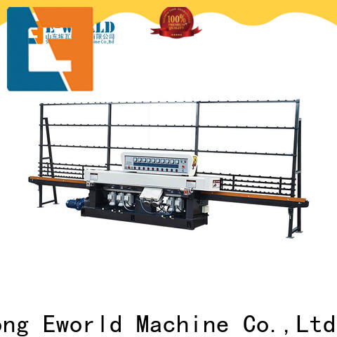 Eworld Machine beveling flat glass edging polishing machine OEM/ODM services for industrial production