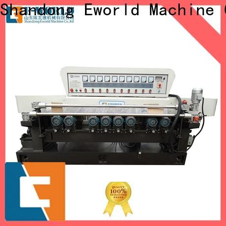 Eworld Machine functional glass double edger machine manufacturer for global market
