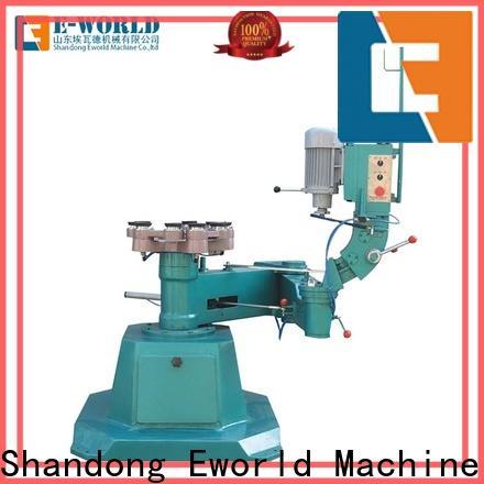 Eworld Machine round glass pencil edge polishing machine manufacturer for global market