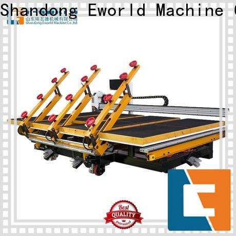 Eworld Machine reasonable structure shaped glass cutting machine exquisite craftsmanship for sale