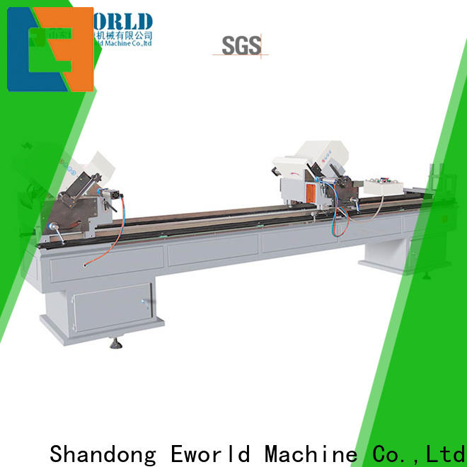 Eworld Machine welding upvc manufacturing machinery factory for industrial production