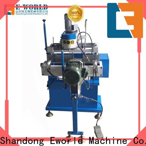 Eworld Machine new upvc window manufacturing equipment supplier for manufacturing