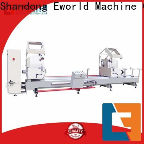 Eworld Machine trade assurance aluminum window door assemble machine OEM/ODM services for manufacturing