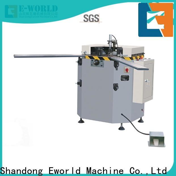 Eworld Machine technological aluminium crimping machine manufacturer for industrial production