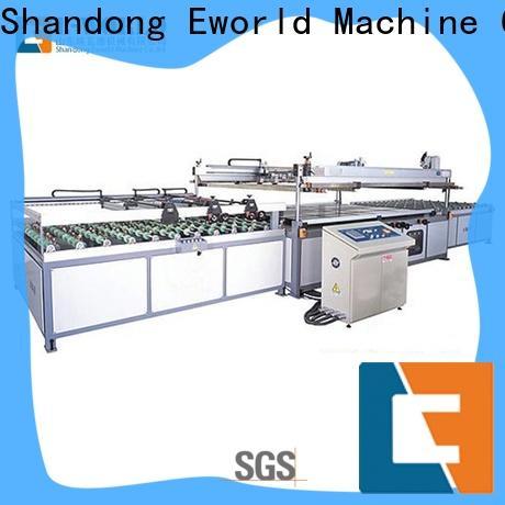 Eworld Machine original pet film screen printing machine exporter for industry