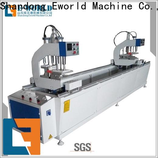 latest upvc window making machine price seamless order now for importer