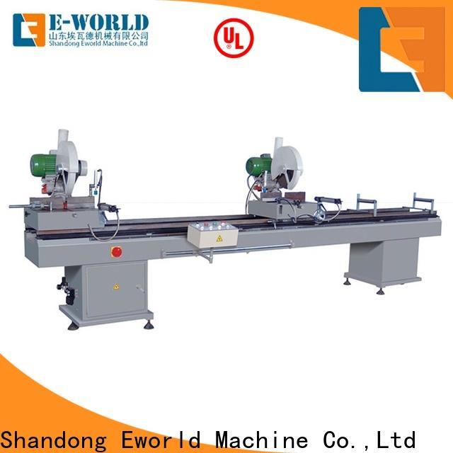 Eworld Machine customized portable upvc window welding machine supplier for importer