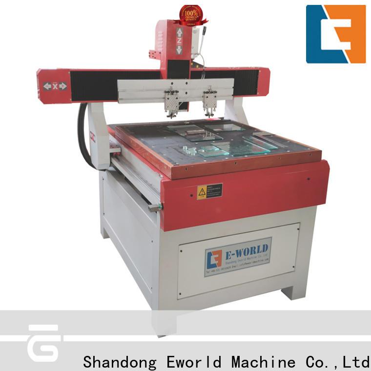 Eworld Machine loading shaped glass cutting machine dedicated service for machine