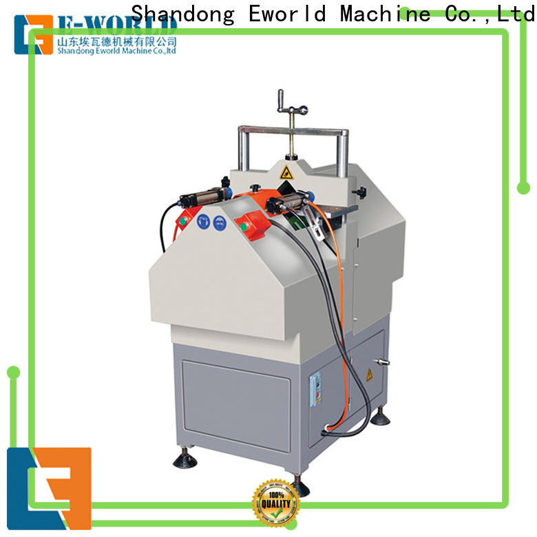 Eworld Machine latest pvc window machinery for sale factory for manufacturing