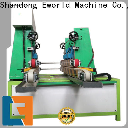 Eworld Machine irregular belt edge glass edging machine manufacturer for industrial production