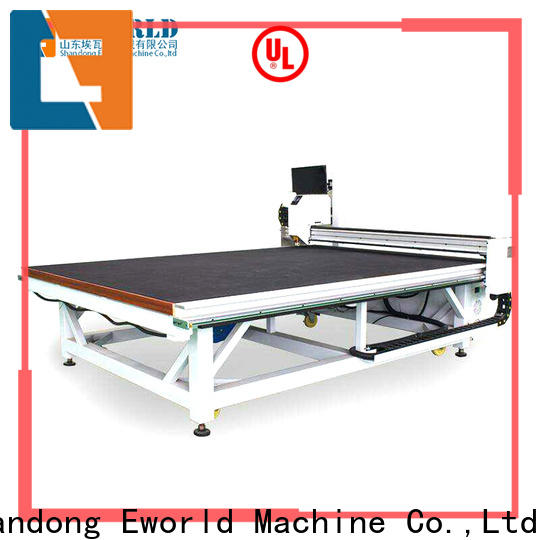 Eworld Machine float small glass cutting machine exquisite craftsmanship for sale