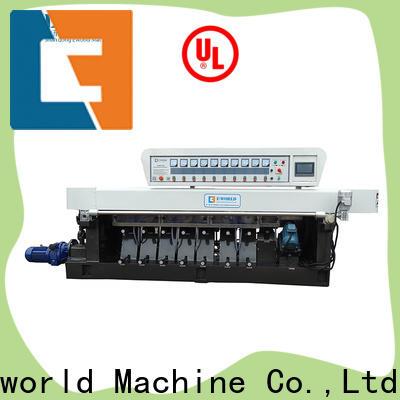 Eworld Machine glass belt edge glass edging machine manufacturer for global market