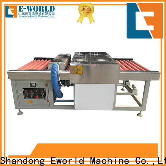 Eworld Machine technological tempered glass washing machine factory for manufacturing