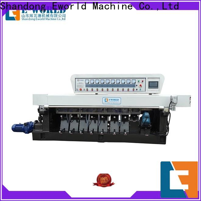 trade assurance glass edge chamfer machine straight OEM/ODM services for global market