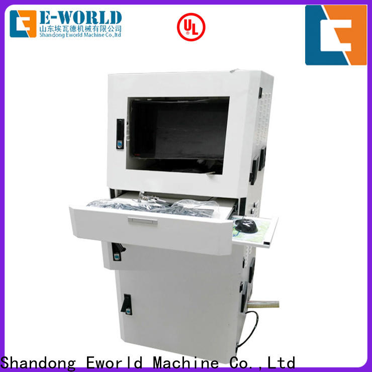 Eworld Machine reasonable structure glass cutting table manufacturers for sale
