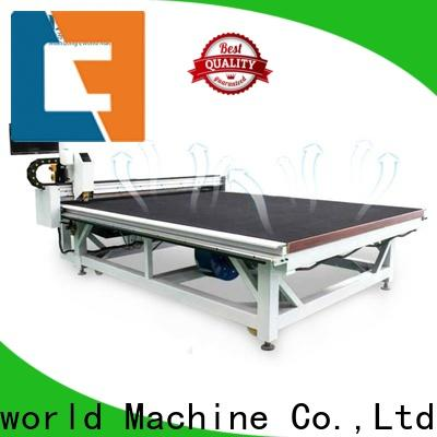 Eworld Machine shaped automatic glass cutting table factory for industry