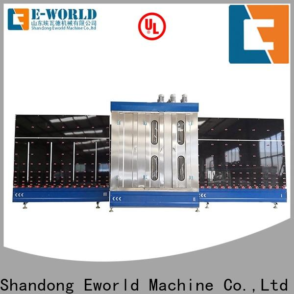 Eworld Machine vertical automatic glass washing and drying machine company for industry