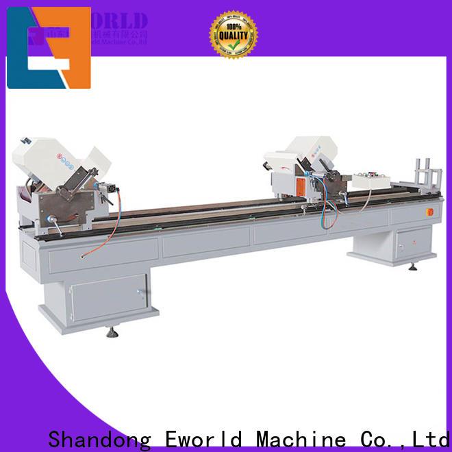 Eworld Machine pvc upvc door making machine manufacturers for industrial production