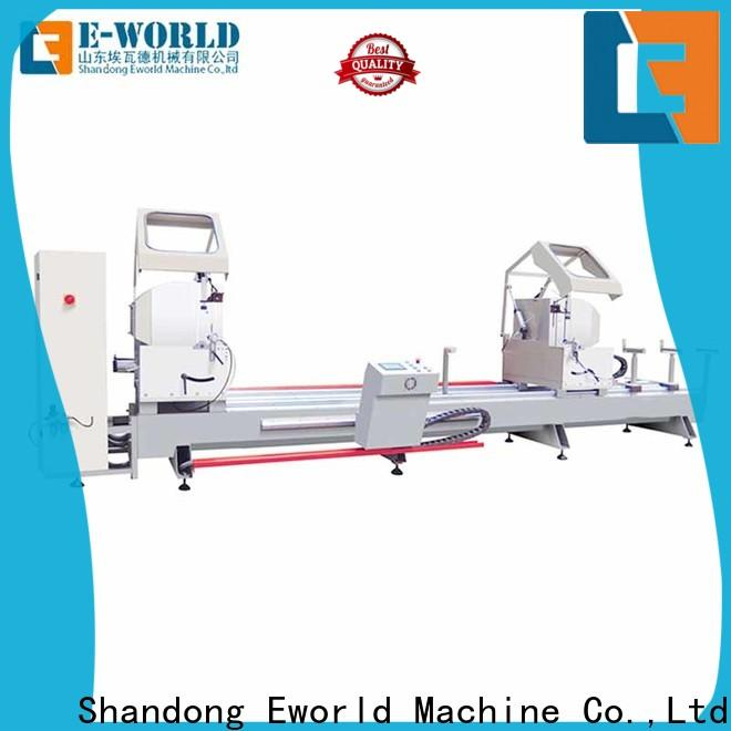 Eworld Machine end aluminum windows corner combining machine supply for industrial production