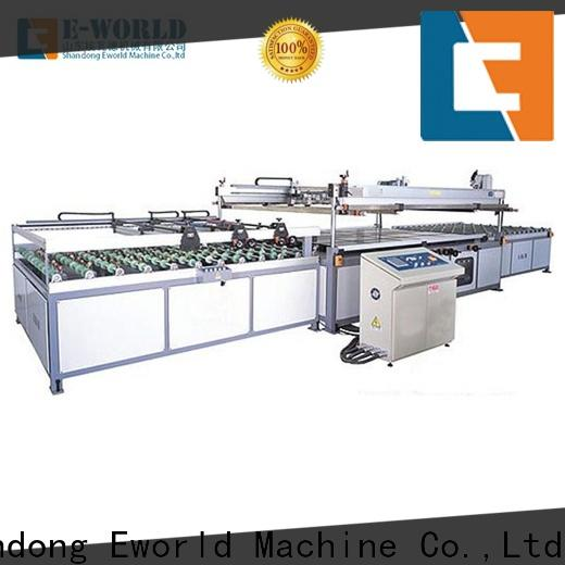Eworld Machine precision silk screen glass printing machine trader for industry