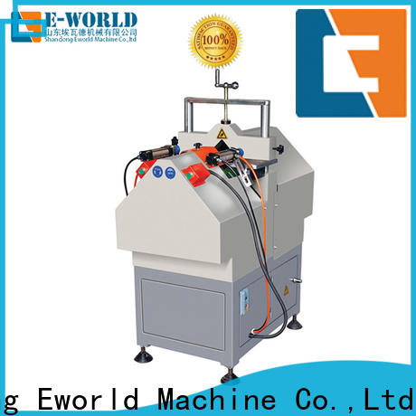 Eworld Machine customized upvc window fabrication machinery order now for manufacturing