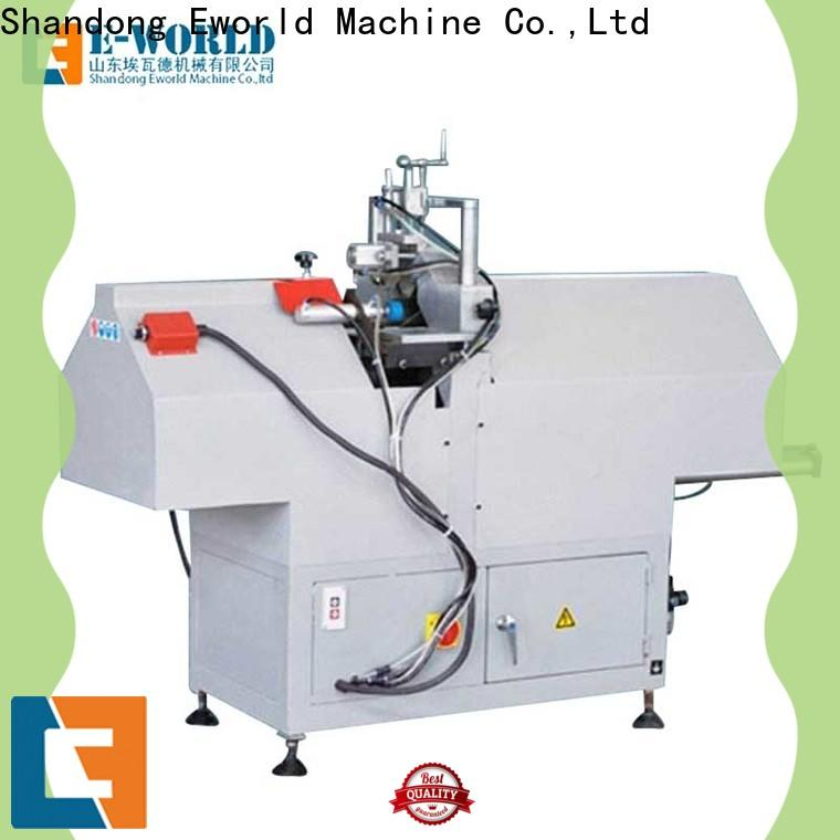 Eworld Machine wholesale upvc cutting machine order now for importer