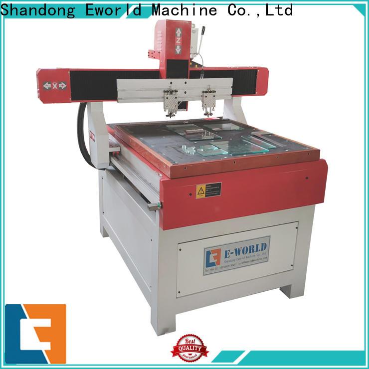 Eworld Machine mirror small glass cutting machine suppliers for machine