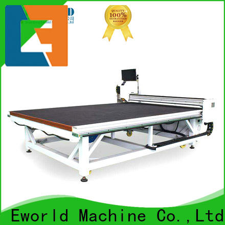 Eworld Machine good safety automatic shaped glass cutting machine exquisite craftsmanship for sale