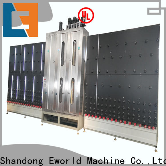 Eworld Machine open laminated glass washing machinery suppliers for industry