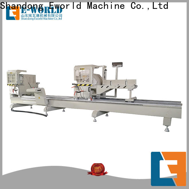 Eworld Machine miter aluminum window lock hole machine for business for global market