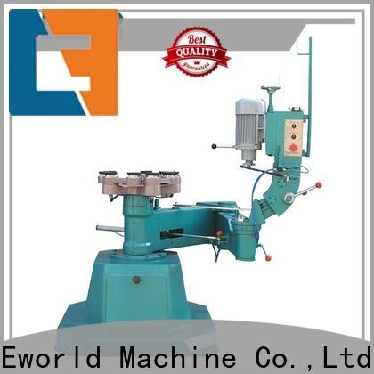 Eworld Machine top glass polishing machine factory for manufacturing