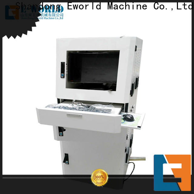 Eworld Machine reasonable structure automatic shaped glass cutting machine for business for industry